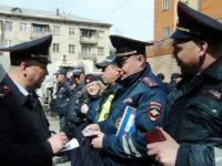 В отделе МВД России по Ашинскому району прошел строевой смотр личного состава